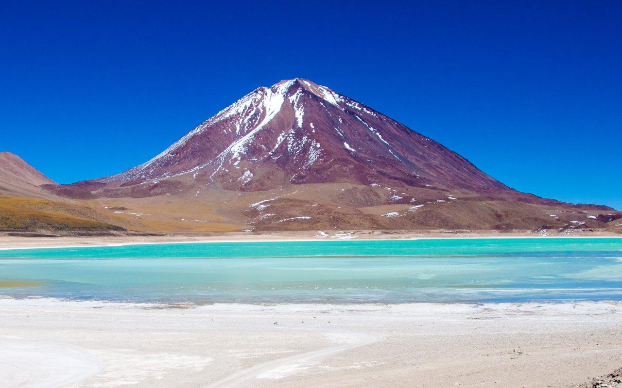 Bolivia, Laguna Verde, Licacanbur