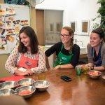 Terra Peru team taking a cooking class