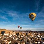 hot air balloon spain